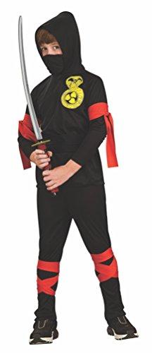 Rubie's 2881900M Ninja, Kostüm für Kinder, 6 teilig, ()