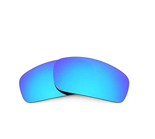 Polarisierte Ersatzgläser für Oakley Monster Pup Gr. 85, blau