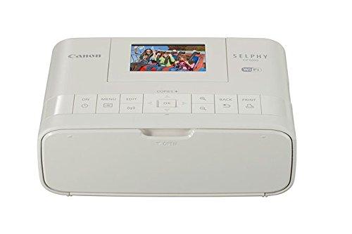 Canon CP1200 Selphy Stampante Fotografica Compatta, 300 x 300 dpi, Wi-Fi, Bianco [Versione Canon Pass Italia]
