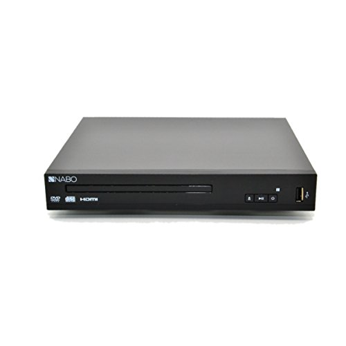 NABO 2250 Slim HDMI MPEG 1/2/4 DVD-Player schwarz -