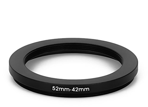 52 mm - 42 mm Filter Adapter Step-Down Adapter Filteradapter Step Down 52-42 52mm Step Down Ring-adapter