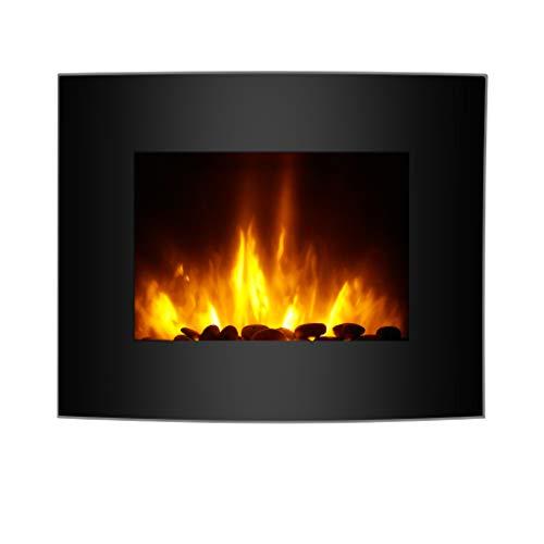 Finether-Chimenea-Elctrica-Estufa-Elctrica-Calentador-1800-W-Temperatura-Ajustable-7-Colores-de-Llama-3D-Intercambiable-Retroiluminacin-LED-Control-Remoto-Negro-65-cm-x-114-cm-x-52-cm