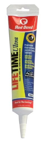 red-devil-0775-lifetime-ultra-premium-elastomeric-acrylic-latex-sealant-squeeze-tube-white-55-ounce-