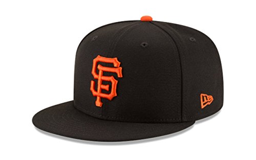 New Era San Francisco Giants Basic Logo MLB Snapback Cap Schwarz, One Size