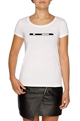 Barcelona Pavillon Mies Lieferwagen Der Rohe Die Architektur Damen Weiß T-Shirt Größe XS | Women's White T-Shirt Size XS