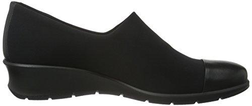 Ecco Felicia, Baskets Basses Femme Noir (53960Black/Black)
