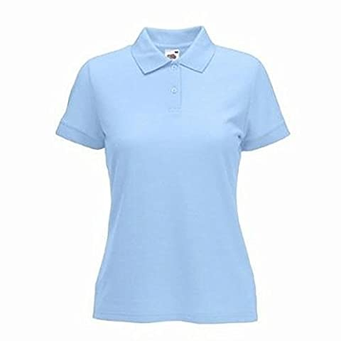 Fruit of the Loom Ladies Lady-Fit Short Sleeve Polo Shirt