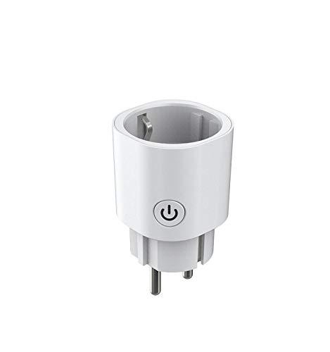 yjll Conector Inteligente Meross WiFi Conector Inteligente Compatible con Alexa Google Home...