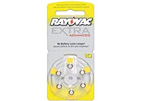 Rayovac Hearing Aid Batteries x 60 Size 10