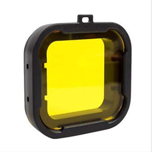 Preisvergleich Produktbild Viviance Xiaomi Yi 4K Zubehör Unter Wasser Dive Lens Filter Für Xiaomi Yi 2 4K Actioncamera - Gelb