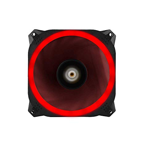 Antec Spark 120 RGB Case Fan with Dual-Ring Aperture 120mm PWM Fan and Shock Absorbing Hydraulic Bearings (Spark 120 RGB)