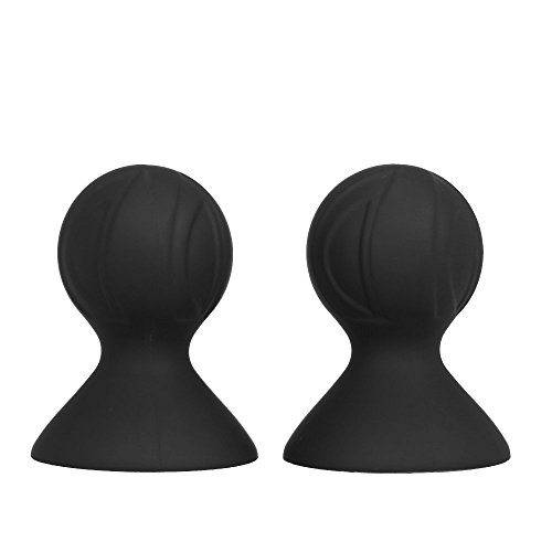 Anself Silikon Nippelsauger Paar, Extra Starke Brustwarzensauger Sexspielzeug für Frauen
