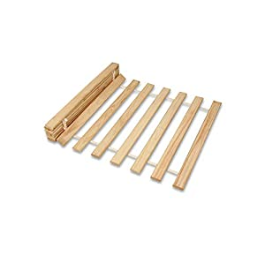 Home Collection24 GmbH Rollrost Rolllattenrost Lattenrost Naturholz Qualitätsarbeit aus Deutschland unbehandelt frei von…