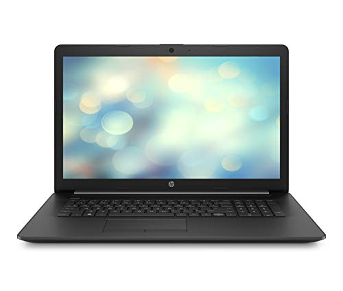 HP 17-by0018ng (17,3 Zoll / HD+) Notebook (Intel Celeron N4000, 8GB DDR3L RAM, 256GB SSD, Intel UHD Grafik 600, Windows 10 Home) schwarz