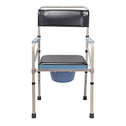 Nachttische, WC-Sicherheitsrahmen, Dicker Rostschutzbügel aus Aluminiumlegierung, Erhöhen Sie die Antirutschmatte, um den Schlupf zu stabilisieren. Kann der Schwerkraft von 500 kg standhalten -