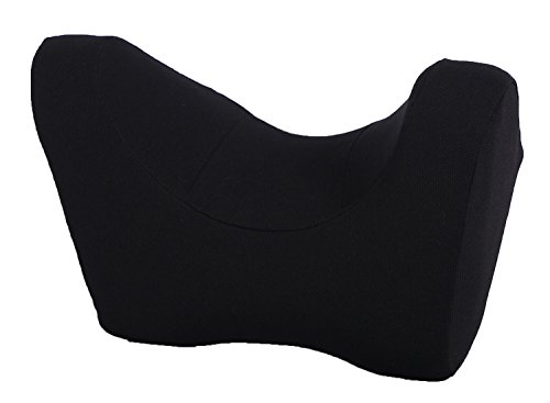 Preisvergleich Produktbild Auto Nackenkissen Memory Foam Kissen verstellbar Flugzeug Nackenstützkissen Reisekissen Kopfstütze Kissen schwarz schwarz