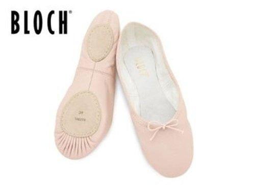 213 bloch canvas split sole pink ballet shoes 2.5
