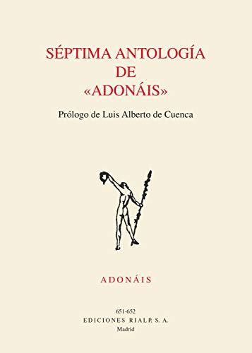 Séptima antologia de Adonáis (Poesía. Adonáis) por Varios Autores