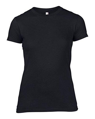 Anvil - T-shirt - Femme * taille unique Noir