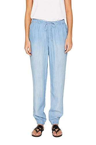 ESPRIT Damen 049EE1B024 Boyfriend Jeans, Blau (Blue Light Wash 903), W31/L32 (Herstellergröße: 31/32)