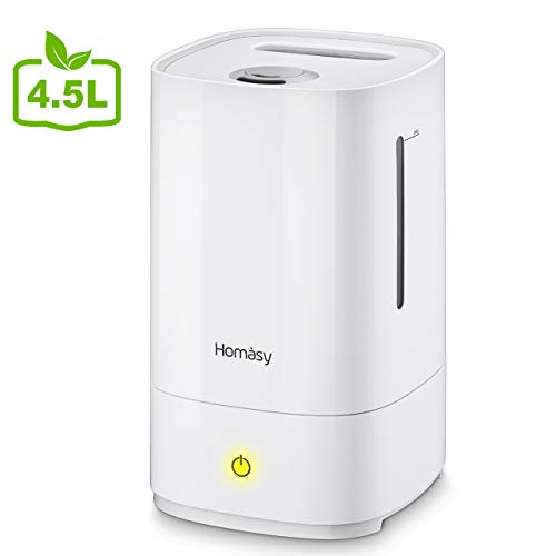 Homasy 4.5L Humidificateur d'Air bébé , Humidificateur...