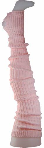 Damen Stulpen Formstabil Rosa 92cm 1 Paar Beinwärmer Extralang Oberschenkel / Overknee -...