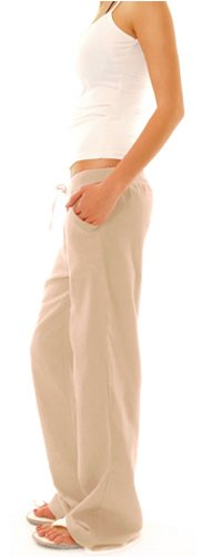 Bestyledberlin Damen Hosen, Leinenhosen, legere Stoffhosen j98a Grau