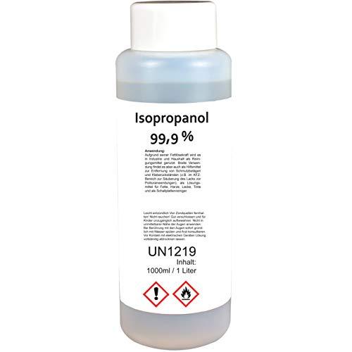Isopropanol/Isopropylalkohol Klar 99,9% 1000 ml - Isopropylalkohol Cleaner