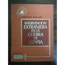 INTERVENCION EXTRANJERA EN LA GUERRA DE ESPAÑA