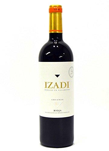 Uno de los crianzas de rioja que le sorprenderá. Bodegas izadi se funda en 1987 en el corazón de rioja alavesa, y desde el primer momento se especializa en la producción de vinos modernos de alta calidad. Nota de cata color rubí de capa media y untuo...