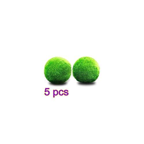 Ball Live-Anlage Aquarium Ornament wartungsarm, zügelt Algenwachstum ()