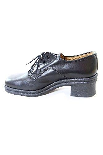 Zapatos De Cuero Cult Beat Vintage Para Mujer Con Tacón De 55 Mm Cl6754gu226 Negro Negro