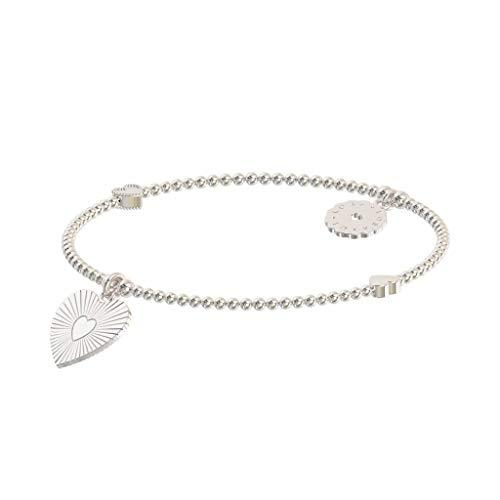 Lora di Lora Armband Petit Boda. One individual string 925 Sterling Silver für Frauen 15 cm