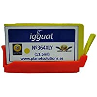 Confronta prezzi iggual PSICB325EE 11.5ml Yellow ink cartridge - Ink Cartridges (HP, CN325EE, Yellow, Deskjet 3070 / 3520 e-All-in-One / 3522 / D5445 / D5460 / Deskjet ink Advanced 4615 / 4625 /..., 11.5 ml, Inkjet) - Trova i prezzi più bassi