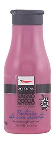 Aquolina Le Gourmand Florals BathFoam Rose frosted cupcake 250ml