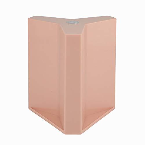 YASHANG Magnetisch Magnet Messer Block, Gute Qualität, Nordischer Stil, Messerstand, Scheren Halter, Kitchen Organizer, Lagerung Ohne Messer (rosa)
