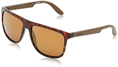 Carrera 5003 1l ddm occhiali da sole, marrone (havana matte dark brown gold), 58 unisex-adulto