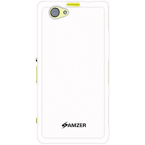 Amzer 96463 Pudding TPU Case - White for Sony Xperia Z1 Mini  available at amazon for Rs.339