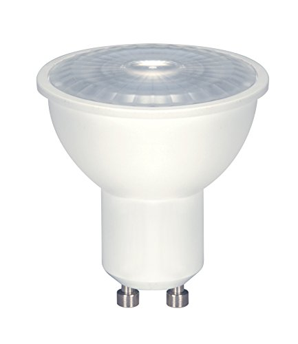 Satco (6er-Pack) S9385 6.5MR16/LED/40'/50K/120V/GU10 6.5W 5000 K MR16 120V GU10 dimmbare LED Lampe