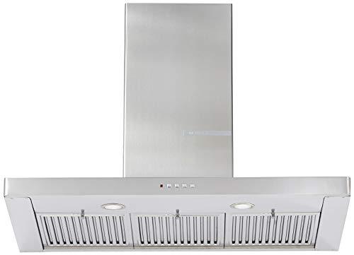 Bosch 90cm 800 m3/hr Chimney (DWB098D50I, 3 Baffle Filters, Steel/Grey)
