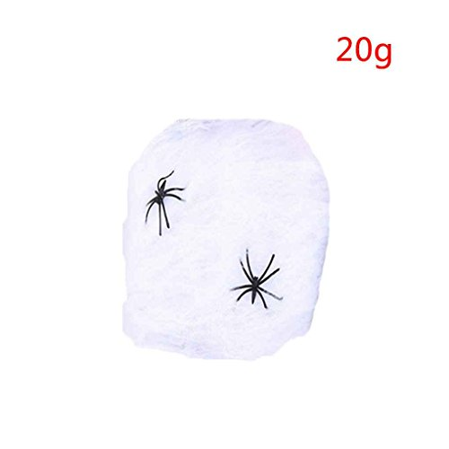 Halloween Stretchy Spider Web Horror DIY Spinnennetz St¨¹tze f¨¹r Halloween Scary Party Szene Dekoration