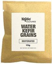 Gránulos de kéfir de agua deshidratados