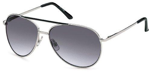 Feinzwirn Pilotenbrille Torla, verspiegeltes Verlaufsglas mit Flexbügeln und Kontraststeg +...