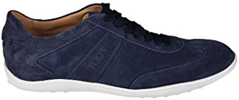 Tod's scarpe da ginnastica Active Active Active 08A in camoscio XXM08A0S480BYEU807 Blu Uomo | Forte calore e resistenza all'abrasione  d116f3