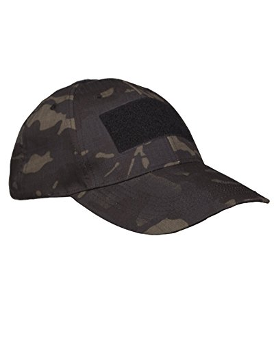 Tactical Baseball Cap multitarn black -