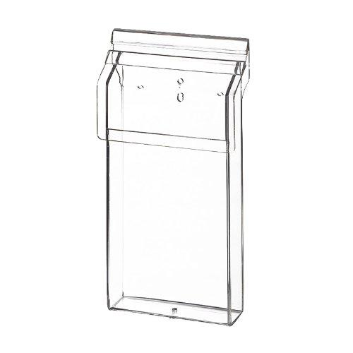 Flyerhalter, Prospektbox DIN lang Outdoor aus Acrylglas PHO111/30