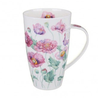 Dunoon en porcelaine en forme de tasse Henley - Coquelicots