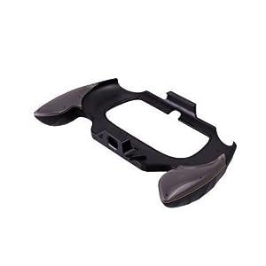 OSTENT Flexible Joypad Bracket Halter Handgriff Griff Kompatibel für Sony PS Vita PSV PCH-2000 – Farbe Grau