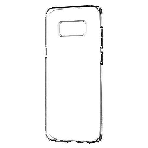 Spigen Liquid Crystal Cover Galaxy S8, Slim Protezione e Premium chiarezza per Galaxy S8 (2017) - Trasparente