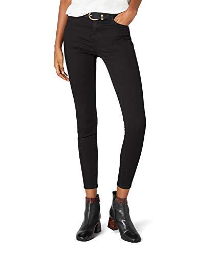New Look Damen Skinny Jeans Supersoft Superskinny, Schwarz, W 36 / L 32 (Herstellergröße: 8/L 32)